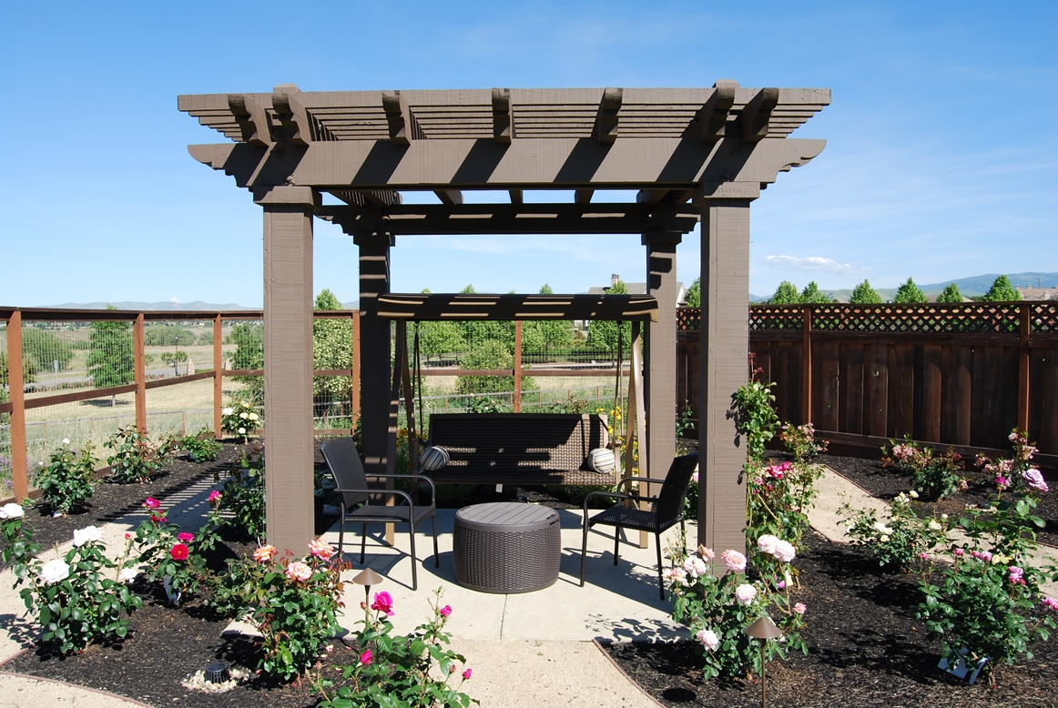 arbors project samples for your back yard