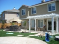 Arbors for backyard living space by Hawkins Pools of San Ramon -101