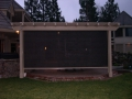Arbors for backyard living space by Hawkins Pools of San Ramon -screens-3