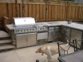 Outdoor kitchen with BBQ grill Danville -13