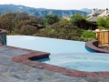 Swimming pool with infinity edge design 2