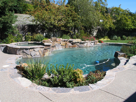 Swimming Pool Spa Design and Construction in Walnut Creek