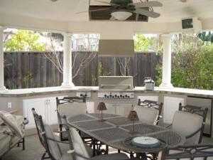 Outdoor BBQ and Outdoor Kitchen design Danville