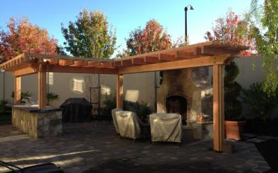 Arbor and BBQ Project in San Ramon