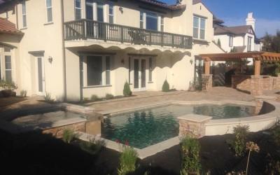 New Swimming Pool and Spa in San Ramon