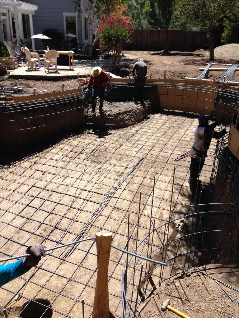 Swimming pool construction in alamo ca for Swimming pool construction company