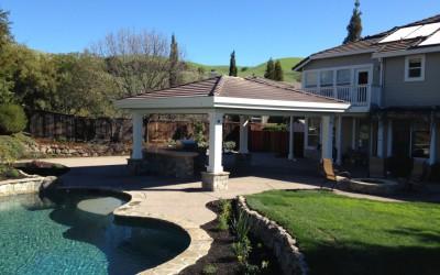 Swimming Pool Spa Design in Walnut Creek