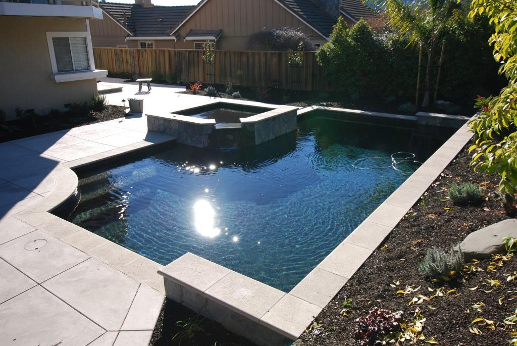 Swimming pool contractor alamo hawkins pools design and for Pool and spa contractors