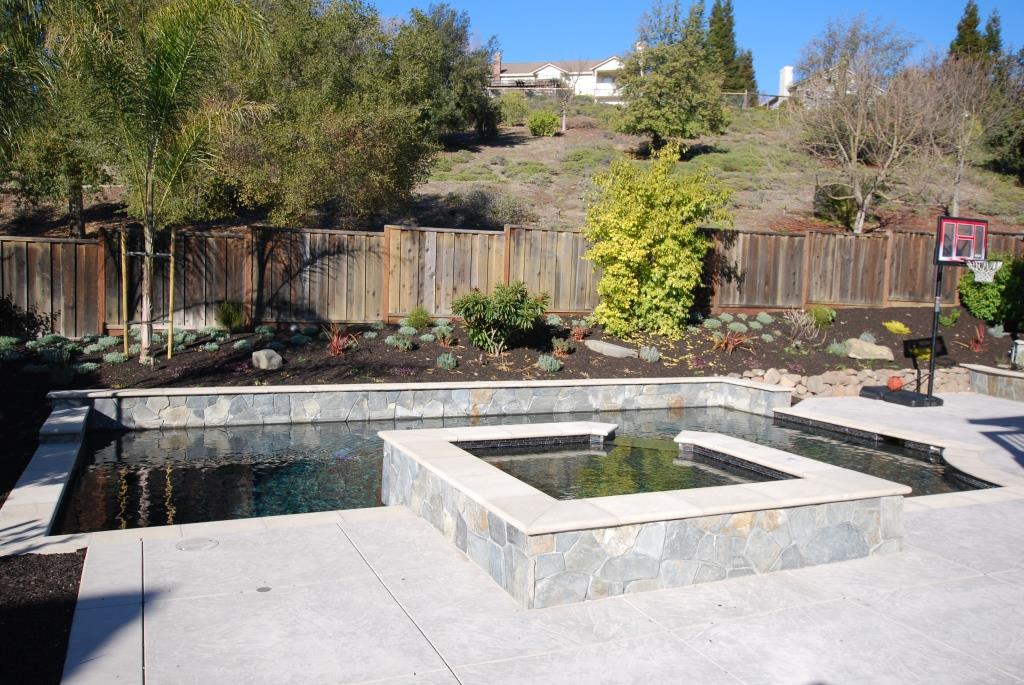 Swimming pool and hardscape design contractor moraga for Pool design and construction