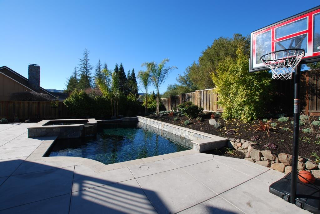 Swimming pool and landscape restoration moraga hawkins for Pool design and construction