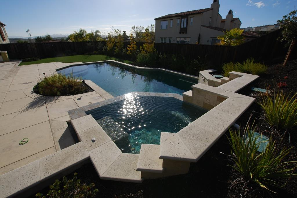 Bbq and arbor design and construction in danville for Pool and spa contractors