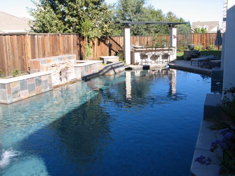 Arbors for backyard living space by Hawkins Pools of San Ramon -1