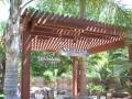 Arbors for backyard living space by Hawkins Pools of San Ramon -103