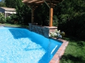 Arbors for backyard living space by Hawkins Pools of San Ramon -14