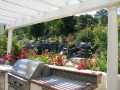 Arbors for backyard living space by Hawkins Pools of San Ramon -3