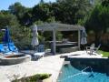 Arbors for backyard living space by Hawkins Pools of San Ramon -4