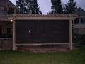 Arbors for backyard living space by Hawkins Pools of San Ramon -screens-3
