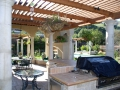 Arbors for backyard living space by Hawkins Pools of San Ramon 30