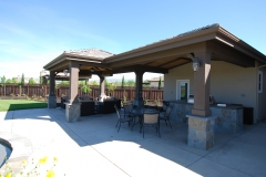 Outdoor BBQ Danville Home by Hawkins Pools San Ramon