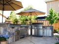 Outdoor BBQ grill design San Ramon-16
