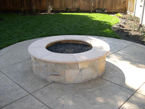 Firepit design Walnut Creek 99