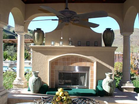 Fireplace design Danville 110