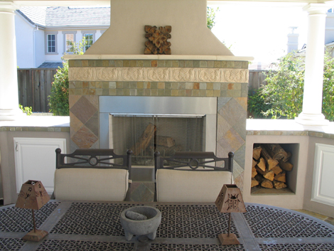 Outdoor fireplace Alamo 5
