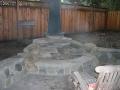 Firepit construction Lafayette 10