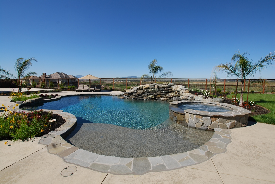 Swimming Pool Ruby Hill by Hawkins Pools San Ramon