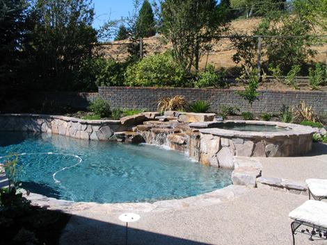 Swimming pool natural design 25