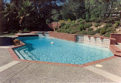 Swimming pool construction 5