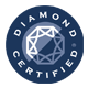 Diamond Cert Blue back