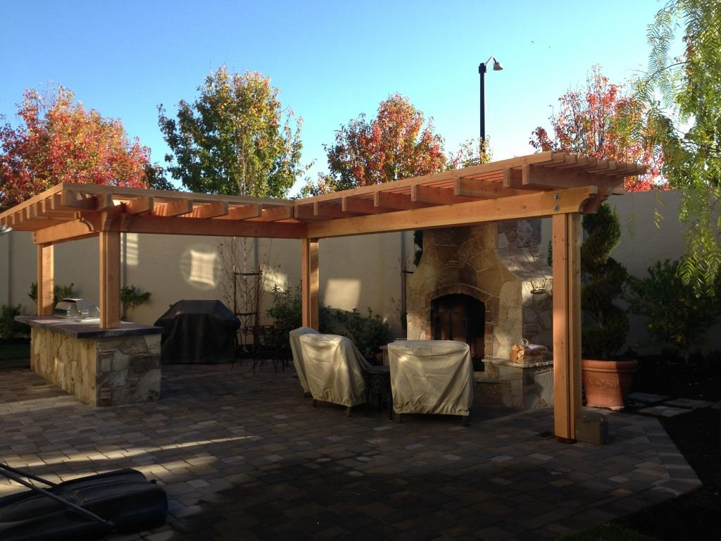 Arbor And Bbq Construction In San Ramon