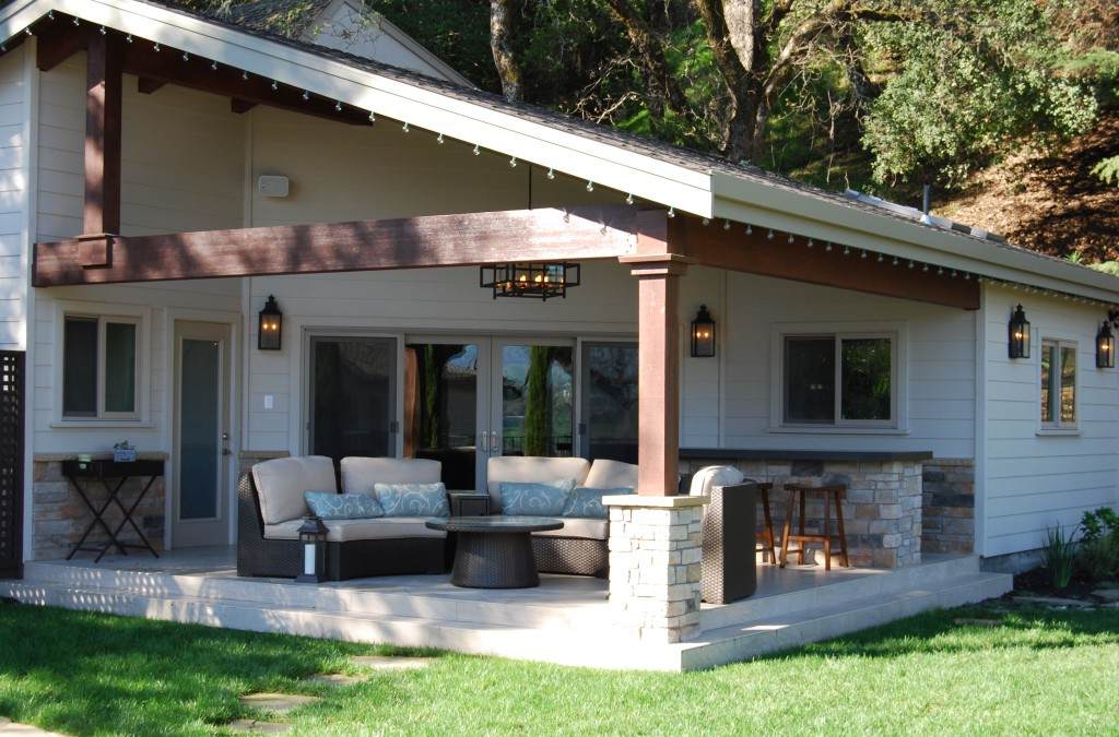 Cabana Construction Project in Danville