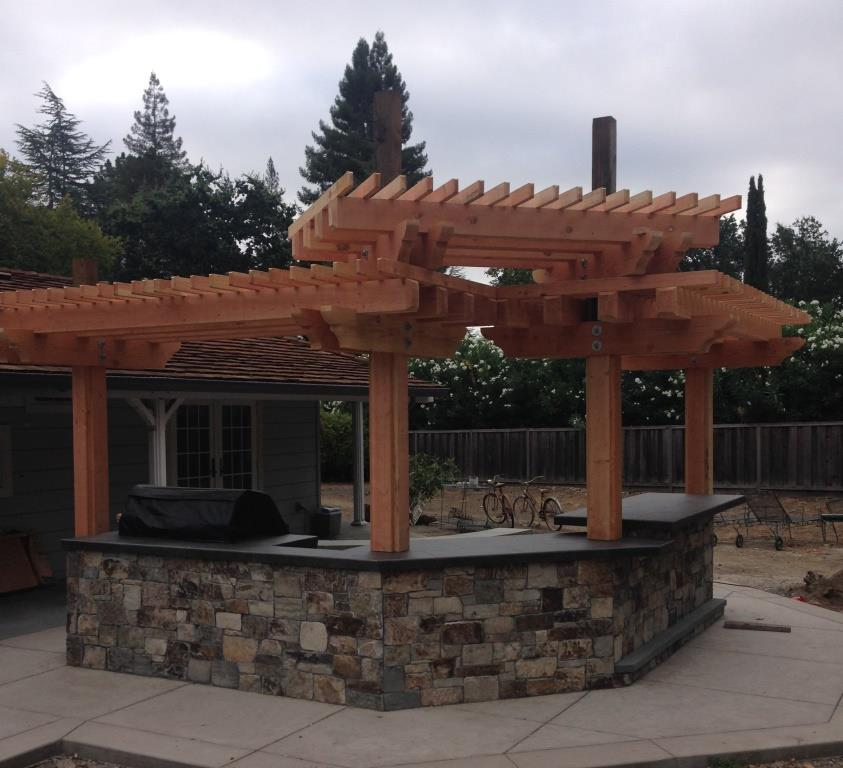 New Orleans Outdoor Kitchens Contractor: BBQ And Arbor Design And Construction In Danville