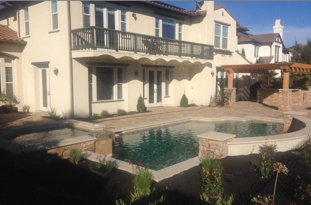 New Swimming Pool And Spa Design And Construction In San Ramon