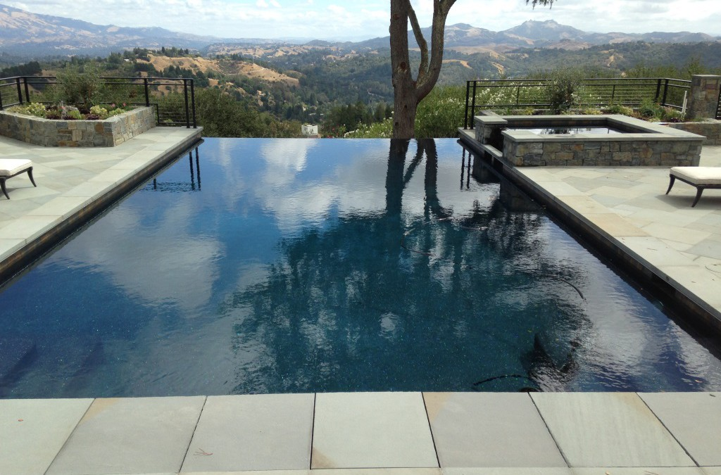 Infinity Swimming Pool Design in Lafayette