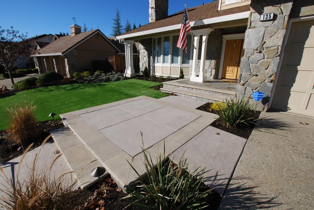 Concrete Services For Your Yard By Hawkins Pools San Ramon