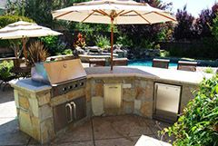 Outdoor Kitchen design and construction Danville